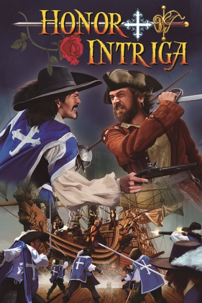 Portada de Honor + Intriga